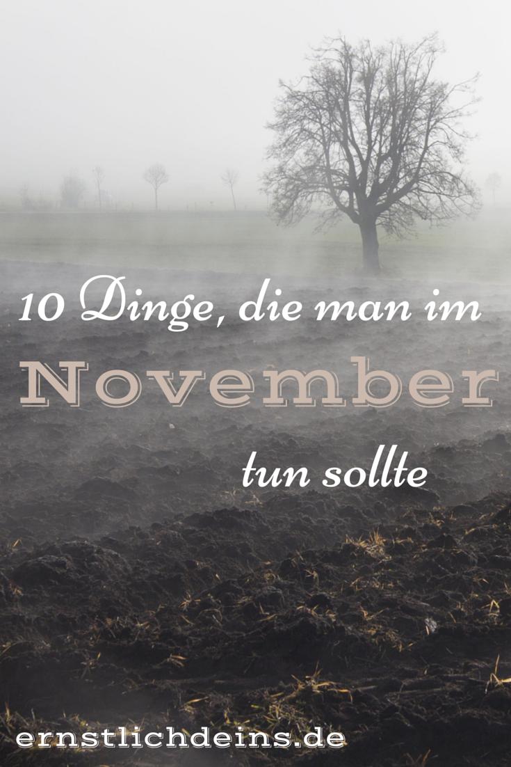 November ernstlichdeins