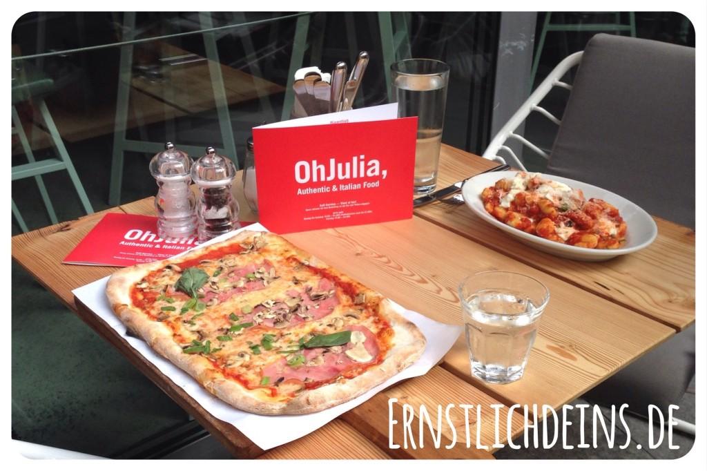 ernstlichdeins.de Oh Julia Pizza
