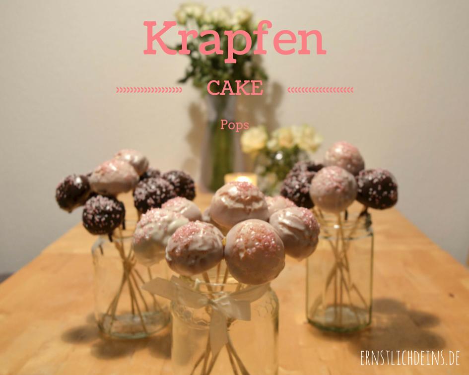 ernstlichdeins.de Krapfen Cake Pops