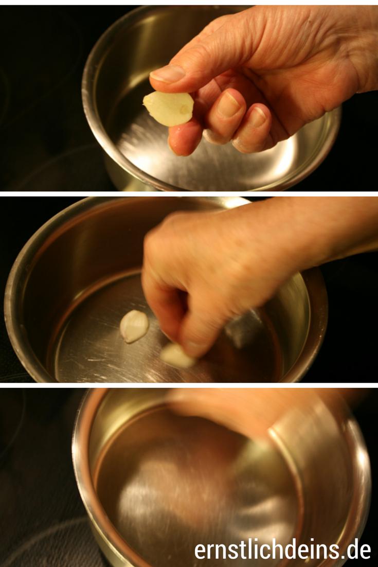 Käsefondue Knoblauch l ernstlichdeins