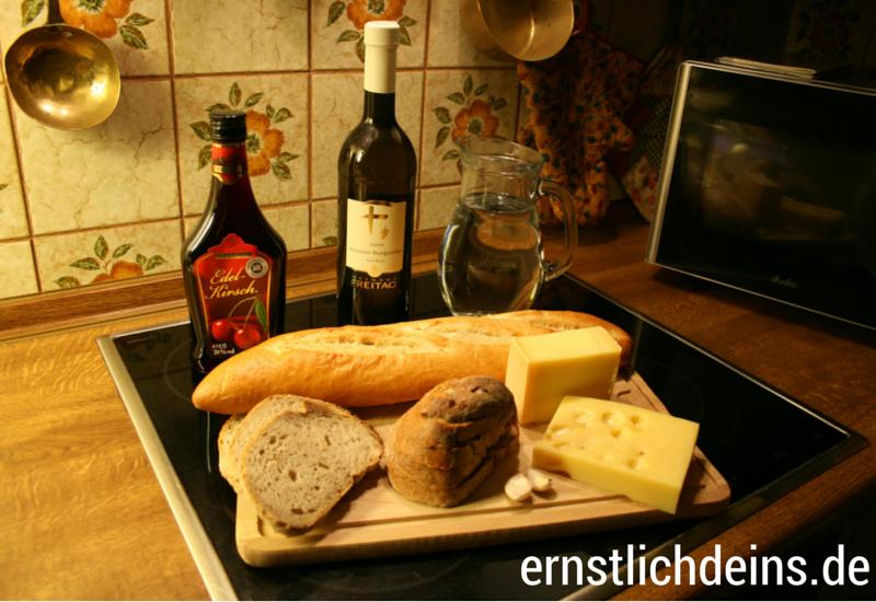 Käsefondue Zutaten l ernstlichdeins