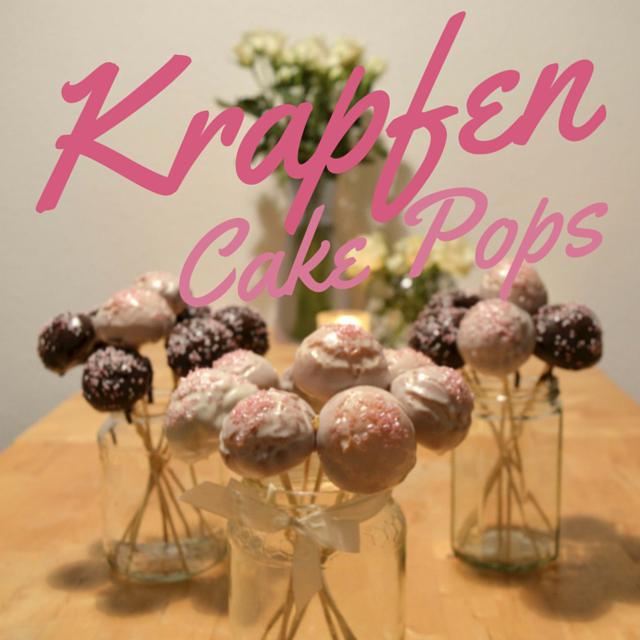 Krapfen Cake Pops Bild