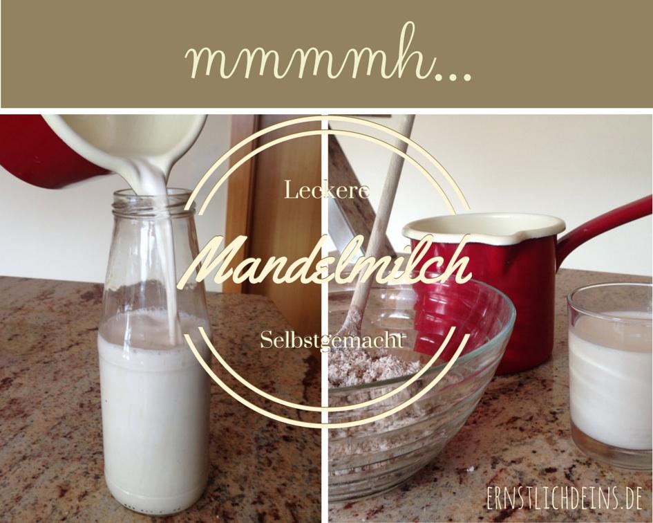 Ernstlichdeins.de Mandelmilch