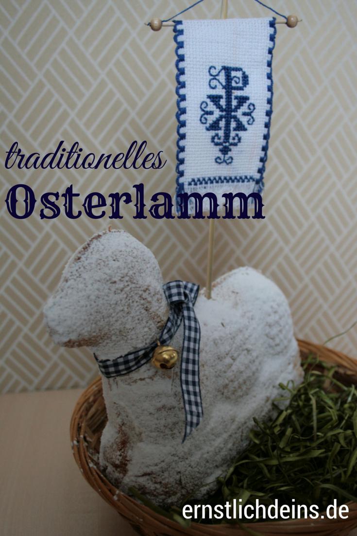 Rezept für ein traditionelles Osterlamm auf ernstlichdeins.de l ernstlichdeins.de
