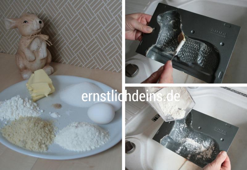 Rezept für traditionelles Osterlämmchen l ernstlichdeins.de