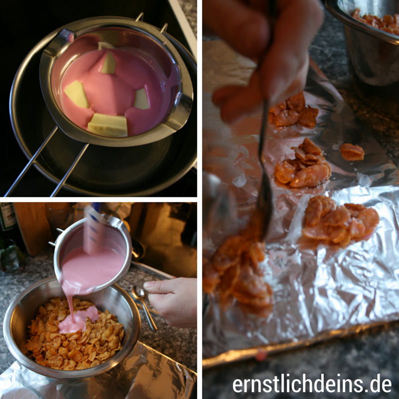 rosa Schokocrossies rezept l ernstlichdeins.de