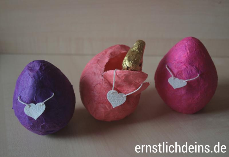 Ostereier aus Pappmaché DIY Anleitung l ernstlichdeins.de