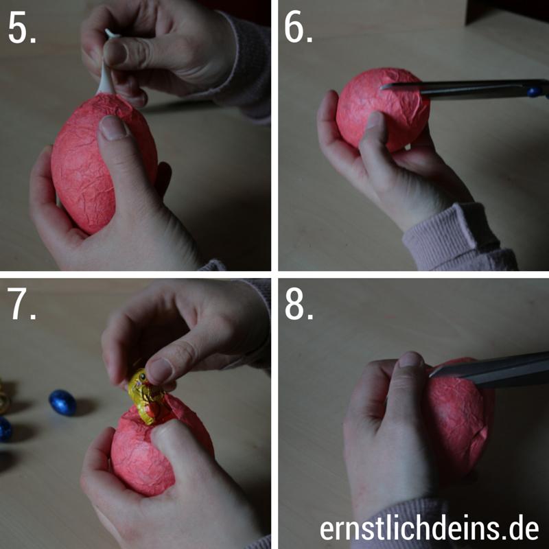 Ostereier aus Pappmaché DIY l ernstlichdeins.de